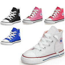 Boys, Girls Converse All Star Hi Top Infants Plimsolls Trainers Shoes Pumps Size