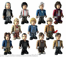 DOCTOR WHO 50th ANNIVERSARY CHARACTER BUILDING MICRO 11 DOCTORS Choice of figure