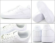 NIKE AIR FORCE 1 '07 MENS 315122-111 ALL white  LOW SNEAKERS