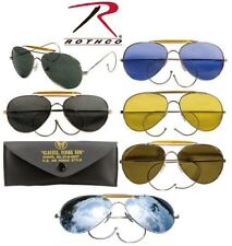 Sunglasses Aviator Style Pilot Sunglasses Chrome Frame With Case 10200