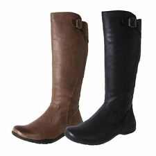 New Planet Shoes Women's Leather Comfort Casual Knee High Tall Boots Spire Cheap
