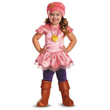 NWT DELUXE IZZY costume JAKE AND THE NEVERLAND PIRATES - TODDLER GIRLS 2T 3T 4T