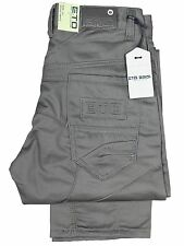 BOYS KIDS JEANS ETO EB452 GREY STRAIGHT LEG ALL SIZES 24 TO 29 REDUCED