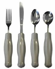 Kinsman Adult Weighted Utensils - Grey - Set or Individual - 11540