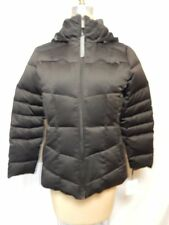 Calvin Klein Petite Hooded Quilted Puffer Coat  PM Espresso  NWT