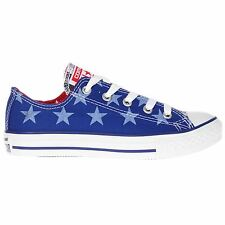Converse CT All Star Ox Radio Blue Youths Trainers - 642834F