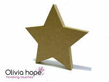 MDF 150MM HIGH CHRISTMAS STAR