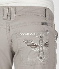 NWOT MISS ME Khaki Pants CE1323 Super CuTe! Buckle Exclusive!!