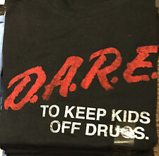 D.A.R.E To Keep Kids Off Drugs DARE PROGRAM SHIRT New S-M-L-XL-2XL T shirt