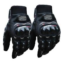 Black Pro-Biker Carbon Fiber MTV Motorcycle Motorbike Racing Gloves M/L/XL/XXL