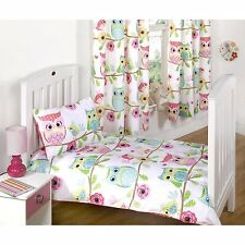 Owl and Friends Bedroom Range - Bedding Curtains Rug Cushion Lighting