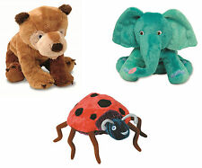 Brown Bear Lady Bug and Elephant Soft Plush Toys - The World of Eric Carle Book