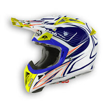 CASCO HELMET AIROH CROSS OFF ROAD AVIATOR 2.1 LINEAR BICOLOR 2015 GLOSS MOTO