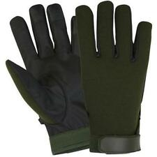 Olive Drab Ultra Thin Neoprene Gloves - Hook & Loop Closure, Weather Protection