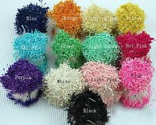 1 Bunch 2000pcs Double Side Head Millinery Flower Stamens Cake Floral Craft