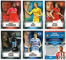 Topps PREMIER CLUB 2014/2015 Base Cards #57-#112 Liverpool/Man City/Utd/QPR etc