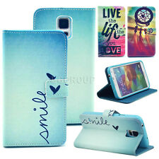 Gift For Various Phones Vogue Folio PU Leather Wallet Card Flip Stand Case Cover