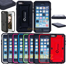 """For iPhone 6 4.7"""" Slim Hybrid Armor Defender Case Cover Built in Screen Protect"""