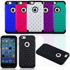 """CRYSTAL RHINESTONE DIAMOND BLING CASE COVER FOR IPHONE 6 4.7""""  WITH FREE FILM"""