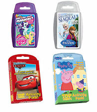 Top Trumps Playing Cards - Frozen - My Little Pony - Disney Cars - Peppa Pig