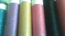 """60""""  GLITTER TULLE FABRIC FOR WEDDING AND PARTY DECORATION 5 YARDS"""