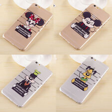 New Cute Cartoon The Wanted Disney Hard Clear Case Cover for iPhone 6 Plus 6 5S