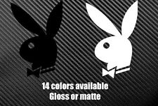 PLAYBOY Bunny die cut decal sticker Different Sizes and Colors Available
