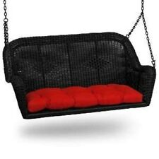 """Cushion for Wicker Swing Loveseat, Choose Solid Colors~ Indoor Outdoor ~41""""X19"""""""
