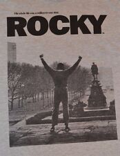 Rocky Balboa His Whole life was a Million to One Shot T-Shirt Adult Tee Licensed