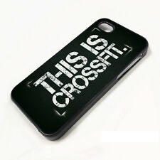 What is CrossFit Logo Snap ON PHONE CASE FOR iPHONE 6 6+ 5 5S 5C 4 4S