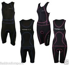 More Mile MENS or LADIES Padded Tri Suit Swim Cycle Cycling Bike Run Triathlon
