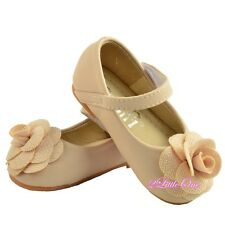 Girl Wedding Pageant Party Mary Janes Shoes Flat Size US 5.5-8.5 EU 21-24 GS017A