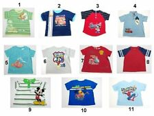 NEW DISNEY SPIDER.MAN Toddler Baby Boys Tops T Shirts Size:12,18,2T,3T,4T