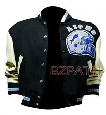 Beverly Hills Cop Axel Foley (Detroit Lions) Vintage Wool/Leather Jacket AllSize
