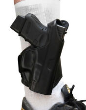 TAGUA LEATHER Ankle Holster Right Hand ~ Choose Your Gun