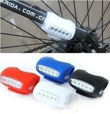 Cycling Bicycle 7 LED Black Silicone Frog Lamp Warning Rear / Front Lights  WOUK