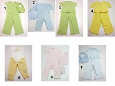 NEW Infant Baby Boys Girls 2-3 PC.Shirts Bib Pants Outfit Set Size:3-6,6,6-9,9,1