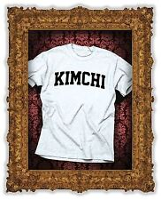 KIMCHI PRINTED T TEE SHIRT FUNNY LOL TUMBLR INSTAGRAM FASHION VEGAN BEYONCE