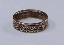 COIN RING handcrafted from  JAPAN. 1 SEN COIN  size 4-8