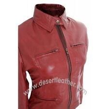 New Once Upon A Time,Emma Swan Faux Leather Stylish RED Color Ladies Jacket