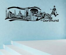 Wall Tattoo Dortmund City Germany Skyline Wall Sticker Mural 1M623