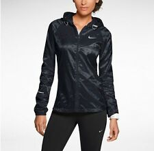 Women's Nike Vapor Cyclone Packable Running Jacket XS, S,M, L, XL  588657 010
