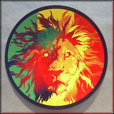Rasta Aufkleber Vinyl Sticker Lion of Judah Reggae Rastafari jamaica ragga decal