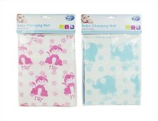 BABY CHANGING TRAVEL MAT 67cm x 47cm HOME & AWAY USE - FOLDING - HEARTS & STARS
