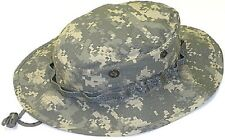 Mil.Issue Acu Digital Camouflage Boonie Busch Hat Rip-Stop Govt Contractor 579RS