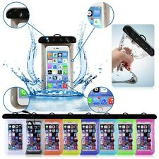 Transparent Waterproof Underwater Pouch Bag Dry Case Cover For Mobile Phones NEW
