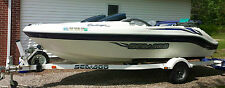 2004 SeaDoo Jet Boat 18ft Challenger 240HP Mercury Great Condition Low Hours