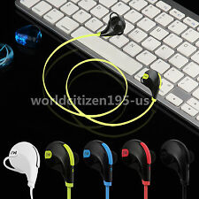 Bluetooth 4.1 Wireless Stereo Earbuds Headset Mic for iPhone 6 SamsungLG