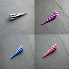 Magnetic Fake Stretchers / Plugs / Earrings / Cheater Tapers come in 9 Colours