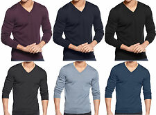 NWT Hugo Boss Black Label By Hugo Boss V-Neck Slim-Fit Lightweight  Wool Sweater
